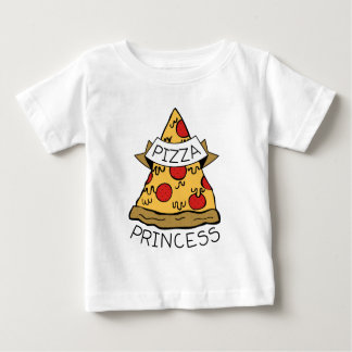 Pizza Princess Baby T-Shirt