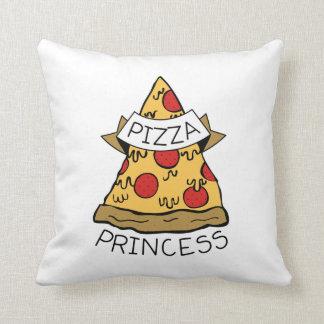Pizza Princess Throw Pillow