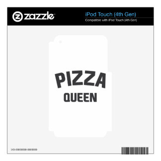 Pizza Queen iPod Touch 4G Skin