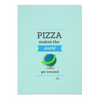 Pizza Quote Invite