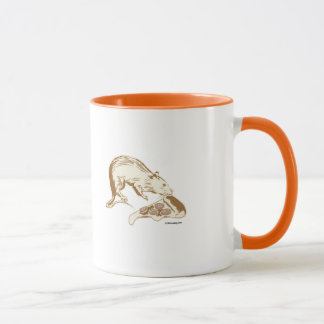 Pizza Rat Picture Mug