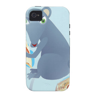 pizza rat vibe iPhone 4 covers