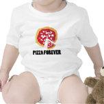 PIZZA real PARA SIEMPRE Trajes De Bebé
