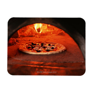 Pizza Rectangular Photo Magnet