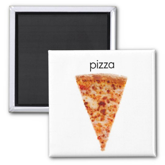Pizza Refrigerator Magnet