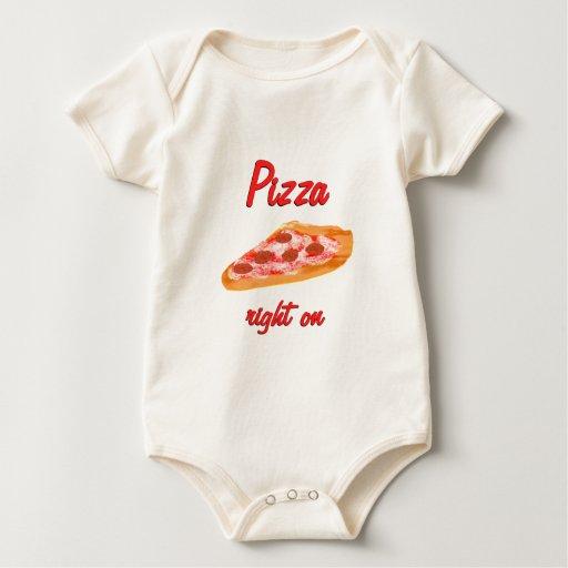Pizza Right On Baby Bodysuit