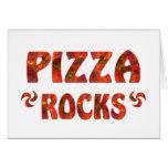 PIZZA ROCKS GREETING CARD