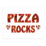 PIZZA ROCKS POSTCARD