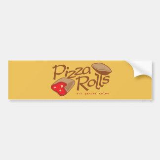 Pizza Rolls Not Gender Roles Bumper Sticker