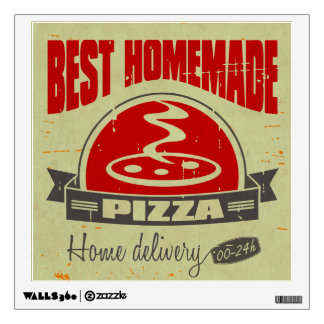 Pizza Room Stickers