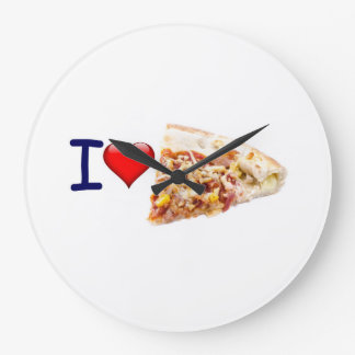 Pizza Round (Large) Wall Clock Image