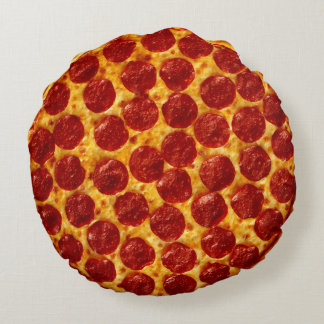 Pizza Round Pillow