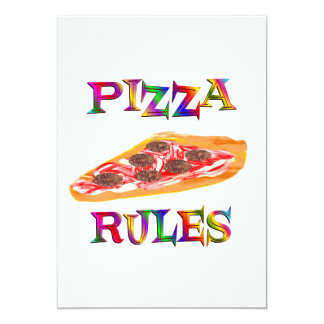 Pizza Rules Announcement