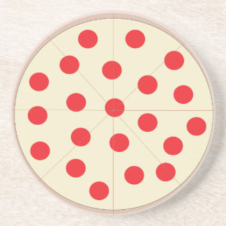 Pizza Sandstone Coaster