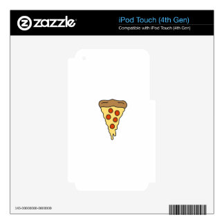 PIZZA shirts, accessories, gifts Decal For iPod Touch 4G