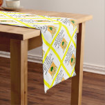pizza short table runner