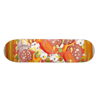 Pizza Skateboard Deck