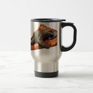 Pizza Slaoth Travel Mug