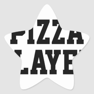Pizza Slayer Star Sticker