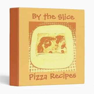 Pizza Slice 3 Ring Binder