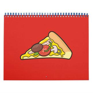 Pizza slice calendar