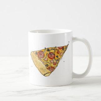 pizza slice coffee mug