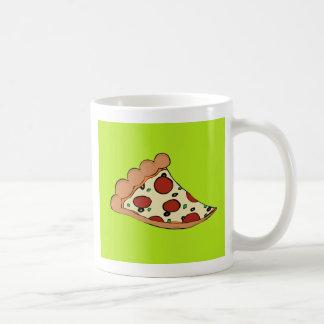 Pizza slice design coffee mug