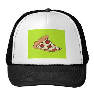 Pizza slice design trucker hat