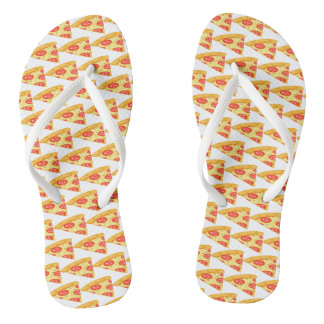 Pizza Slice Flip Flops