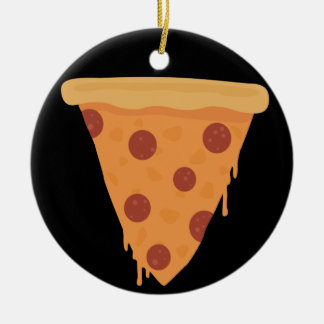 Pizza Slice Christmas Ornaments