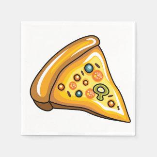Pizza Slice Paper Napkin