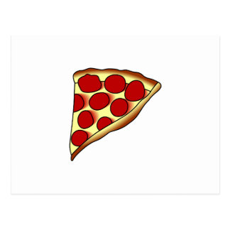 Pizza Slice Postcard