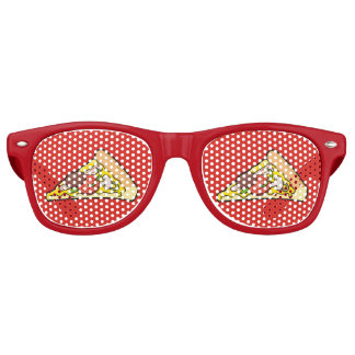 Pizza slice retro sunglasses