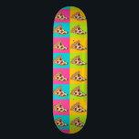 """pizza slice skateboard<br><div class=""""desc"""">pizza slice design</div>"""