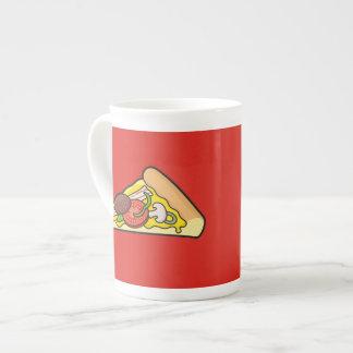 Pizza slice tea cup