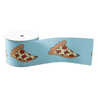 Pizza slices ribbon grosgrain ribbon
