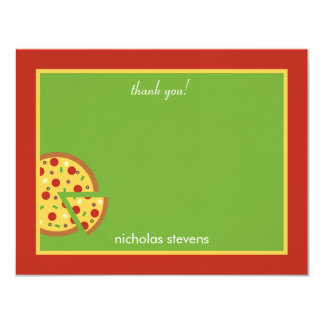 Pizza Slices - Thank You Card