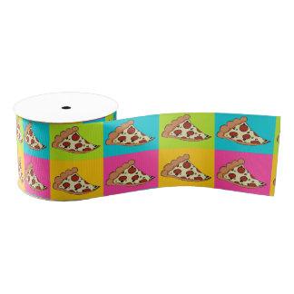 Pizza slices tiled ribbon