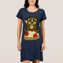Pizza Sloth Dress