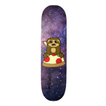 Pizza Sloth Skateboard