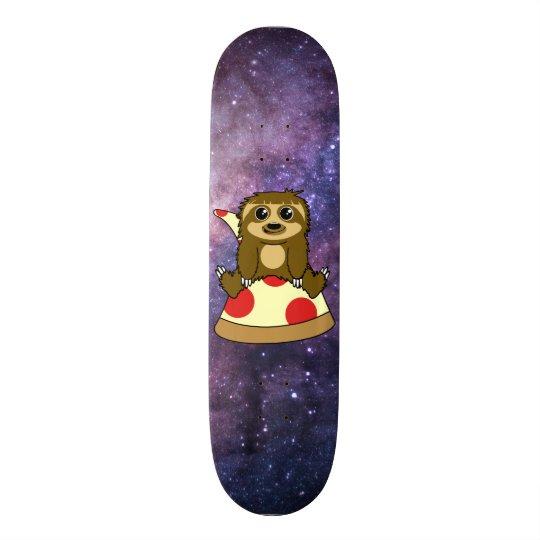 3ed2b816f57041 Pizza Sloth Skateboard | Zazzle.com