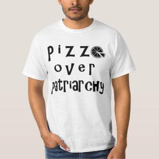 Pizza sobre el patriarcado - versión 2 playera
