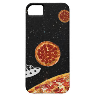 Pizza Solar System Hipster in Galaxy Space iPhone SE/5/5s Case
