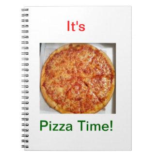 Pizza! Spiral Notebook