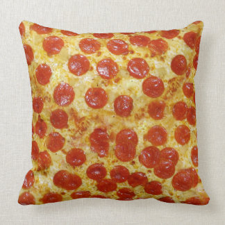 Pizza Square Throw Pillow