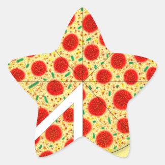 Pizza Star Sticker
