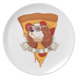 Pizza State of Mind Dinner Plate