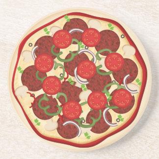 Pizza Supreme Coaster
