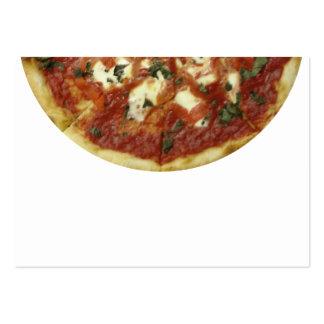 ¡Pizza! Tarjetas De Visita Grandes