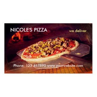 Pizza Tarjetas De Visita
